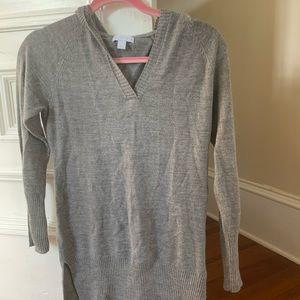 Grey hoodie dress NY&co